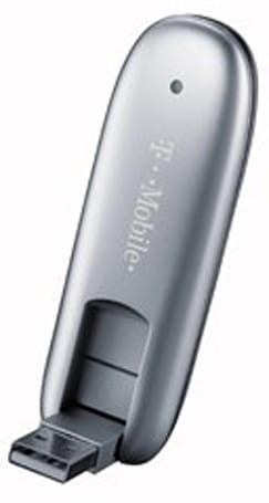 T-Mobile webConnect Rocket 2.0 USB WWAN modem now on sale