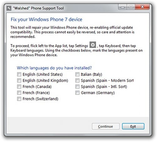Microsoft-approved tool fixes your 'walshed' Windows Phone, helps you get official updates once more
