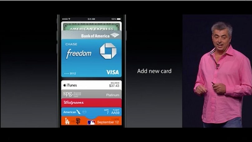 The iPhone 6 has NFC, but not really