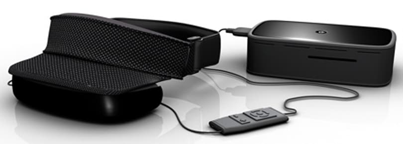Headplay's Personal Cinema System finally available