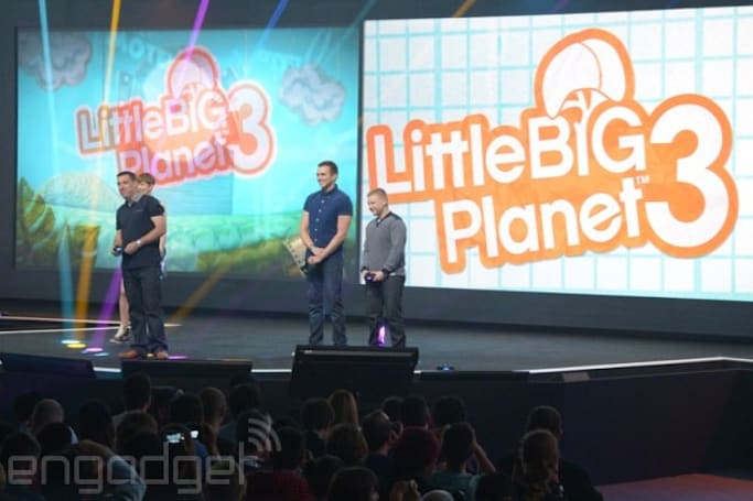 Sony announces 'LittleBigPlanet 3' with loads of new characters and abilities