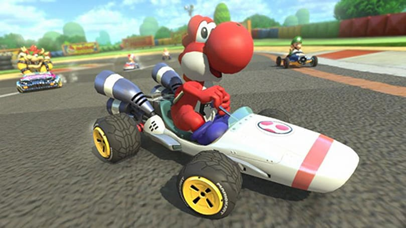 Mario Kart 8 DLC revives the plumber's trusty B Dasher kart