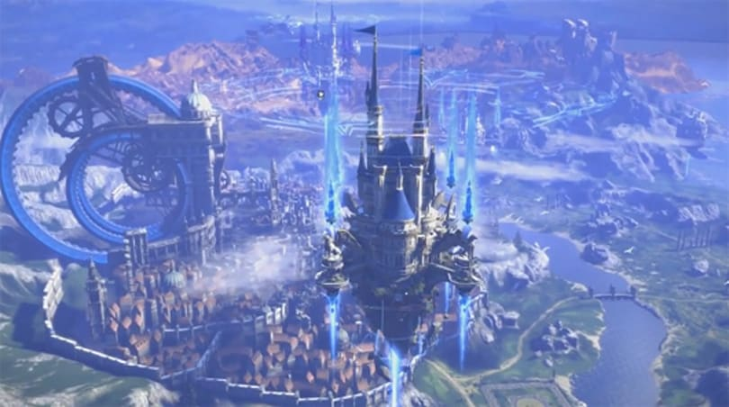 TERA Korea is getting guild fortresses that float