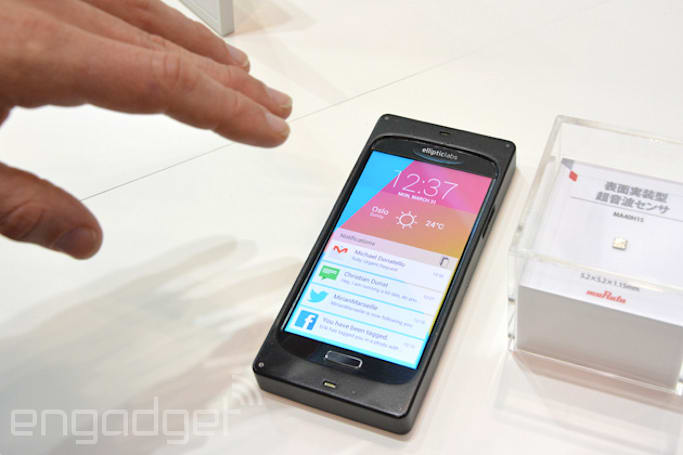 At last, phones will get ultrasound gesture control in first half of 2015