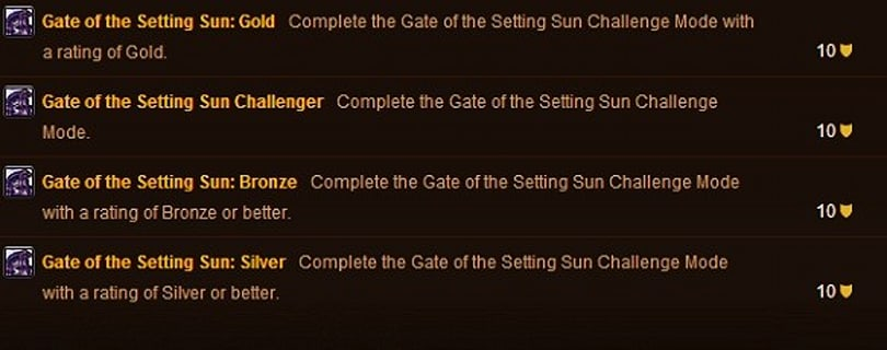 Players begin hitting Gold in Challenge Modes