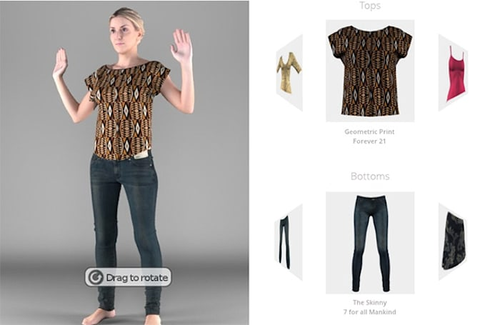 eBay snags a startup that helps you try clothes on virtually