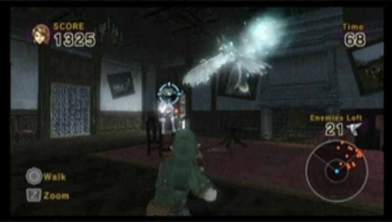 New Link's Crossbow Training screens show us old haunts