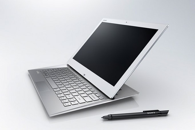 Sony gives the slider another shot with the VAIO Duo 13: coming June 9th for $1,400