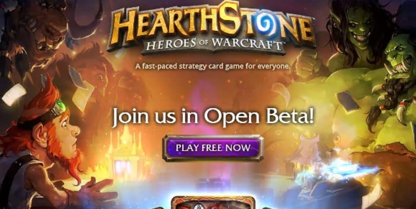 Hearthstone open beta arrives in Europe