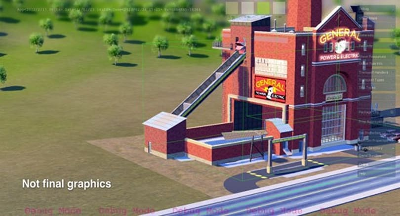 Take a (second) first look at SimCity's GlassBox engine, debug graphics and all