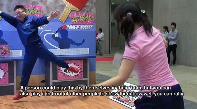 Hyper Ping Pong is like real table tennis, only without the ball, table or opponent (video)