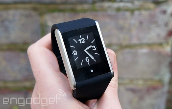 Phosphor's Touch Time is a smartwatch that doesn't need a smartphone (hands-on)