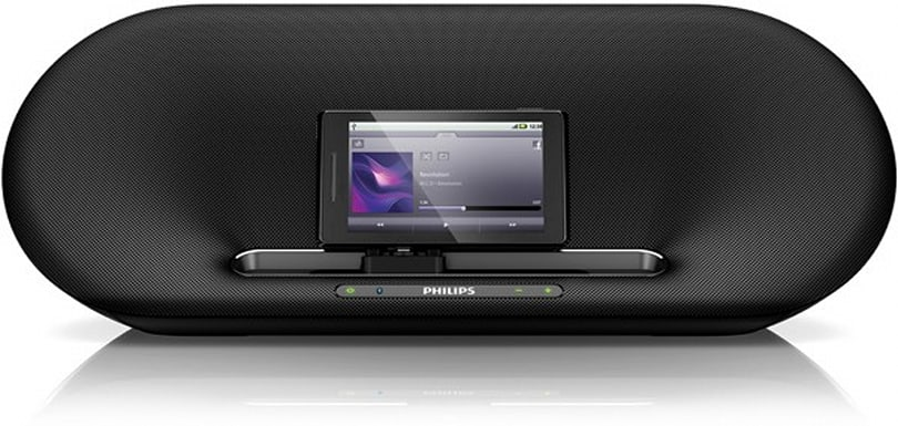 Philips Fidelio for Android speaker docks get your little green robot bumpin'