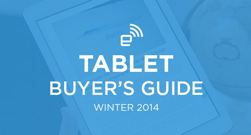 Engadget's tablet buyer's guide: winter 2014 edition