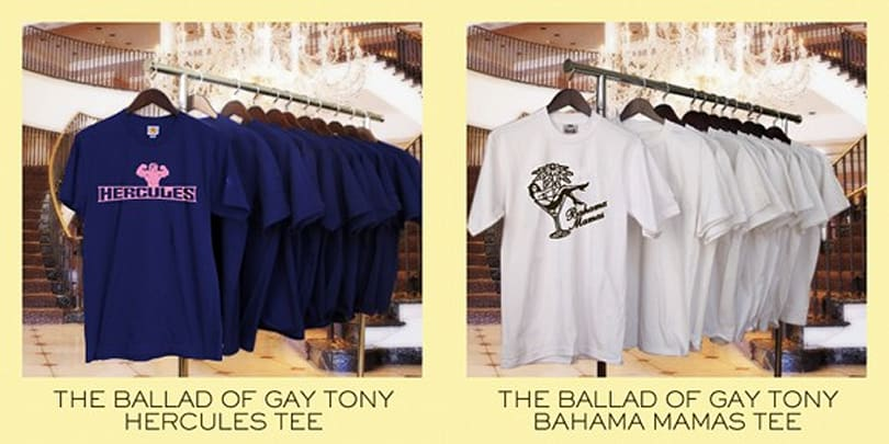 Go clubbing with new GTAIV Gay Tony tees