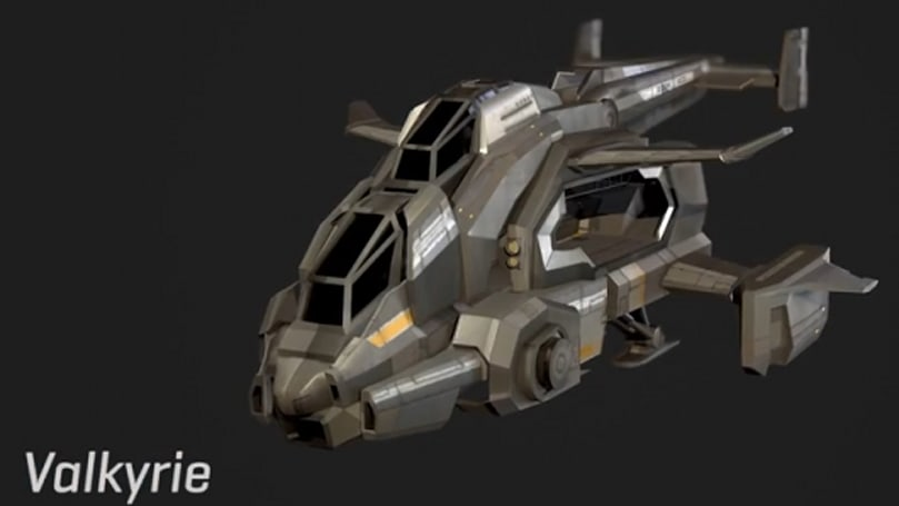 PlanetSide 2 video reveals the Valkyrie