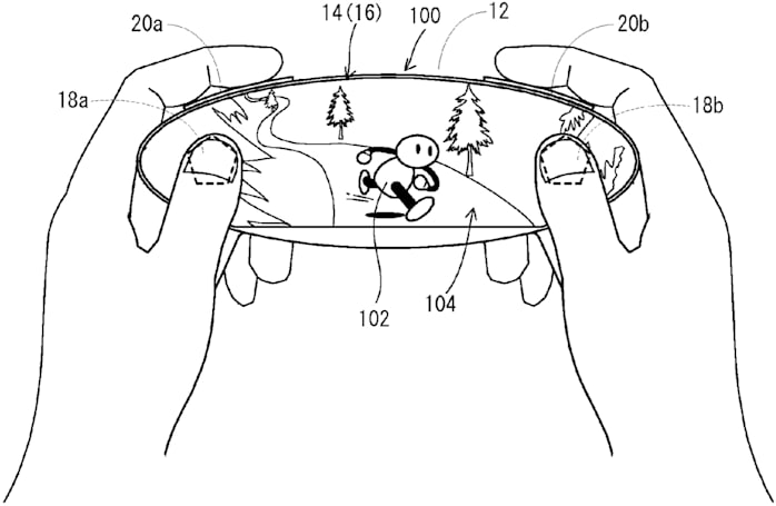 Nintendo invents a gamepad dominated by its touchscreen