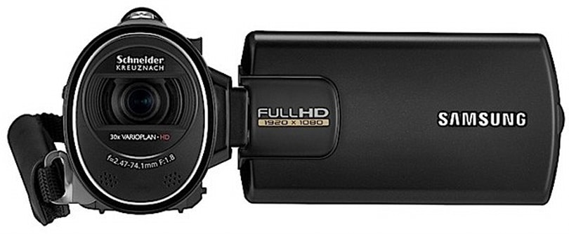 Samsung intros HMX-H300, SMX-F50, HMX-P300 and HMX-P100 camcorders