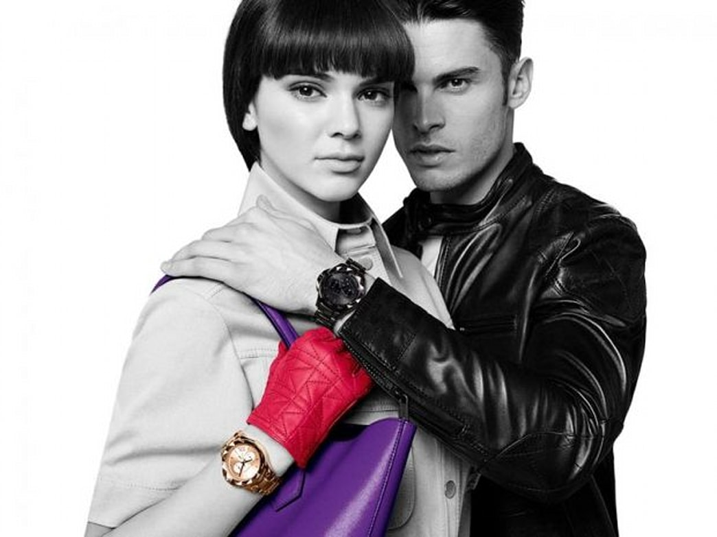 Kendall Jenner cuddle up to Baptiste Giabiconi in Karl Lagerfeld campaign