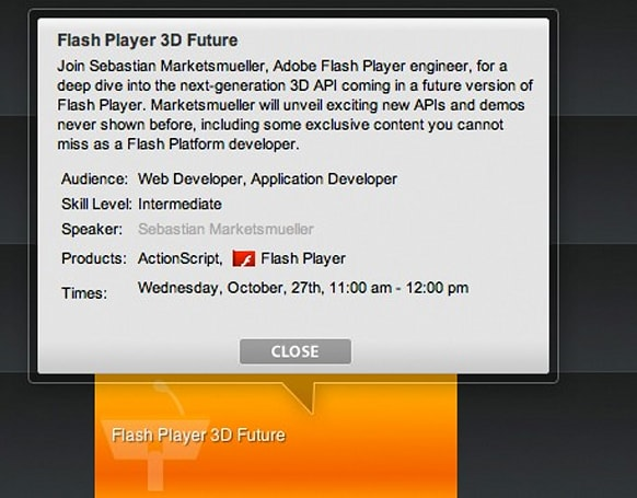 Flash Player investing in a 3D future, plans coming in October