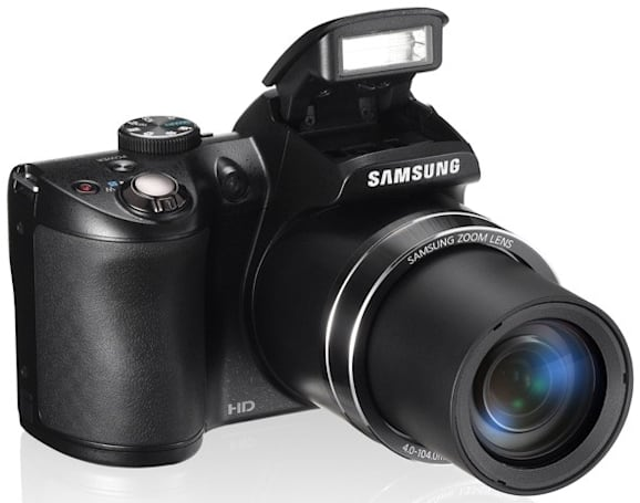 Samsung brings out WB100 camera with 26x lens for zoom-loving Brits