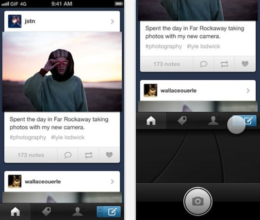 Tumblr for iOS goes native: now with redesigned Dashboard, improved notifications and more