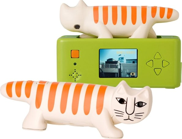 Superheadz Necono 3 megapixel kitty camera might tolerate you (video)