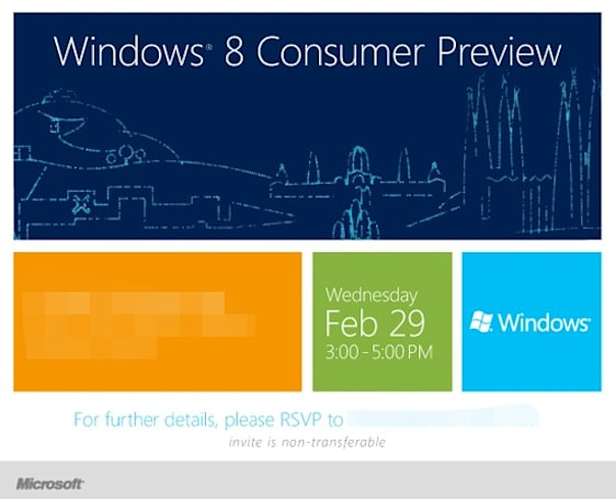 Join us for Microsoft's Windows 8 press conference tomorrow at 9am EST!