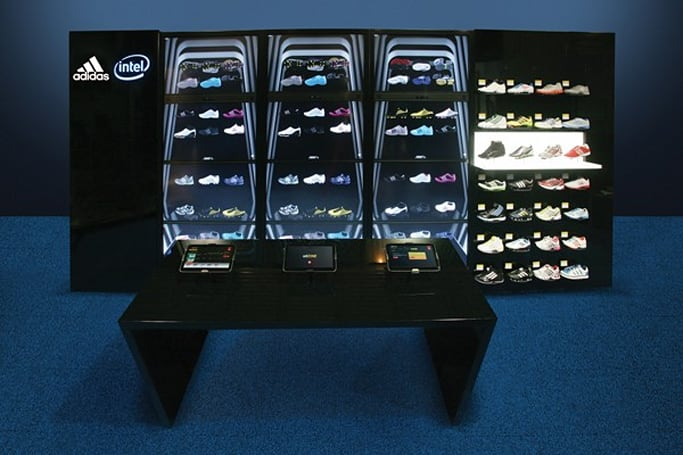 Intel announces Connected Store concept, makes us hungry for shoes