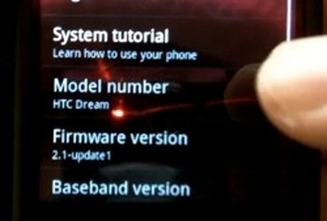 Cyanogen ports Android 2.1 to G1 and MyTouch 3G (update)