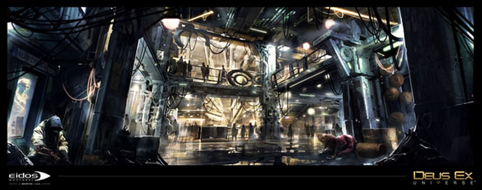 Eidos' Deus Ex: Universe is an 'expanding and connected ...