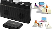 Audio-Technica's AT-SP550TV infrared speaker cuts through the noise