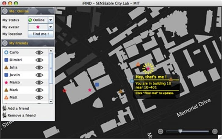 MIT launches iFIND app for stalking your friends
