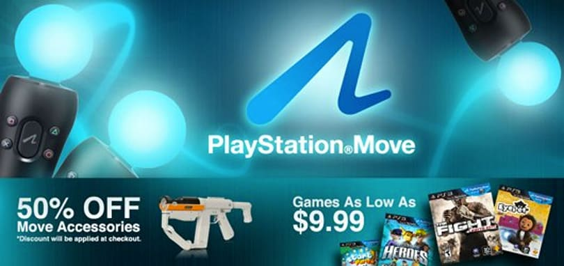 PlayStation Move peripheral(s) knocked down 50% 'while supplies last'