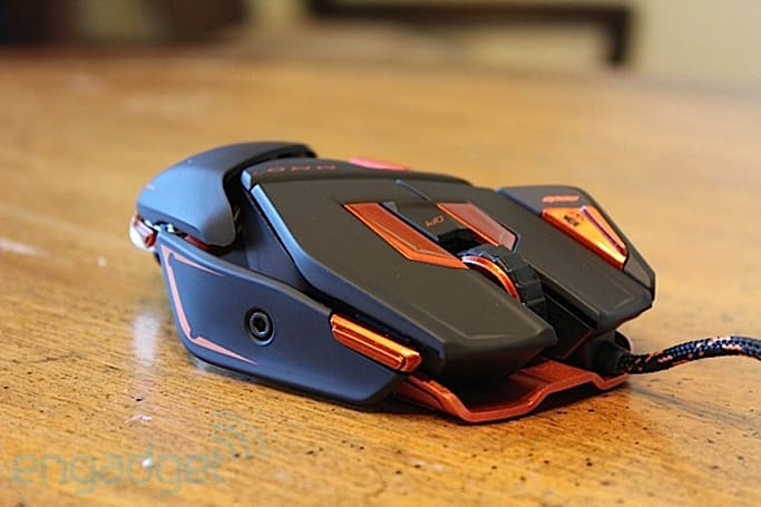 Mad Catz Cyborg M.M.O. 7 gaming mouse hands-on
