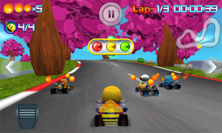 Pac-Man Kart Rally out now on Windows Phone