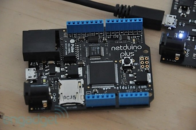 Netduino Plus earns you Ethernet and microSD, an approving nod from Microsoft