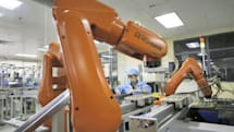 Foxconn replaces 60,000 humans workers with robots