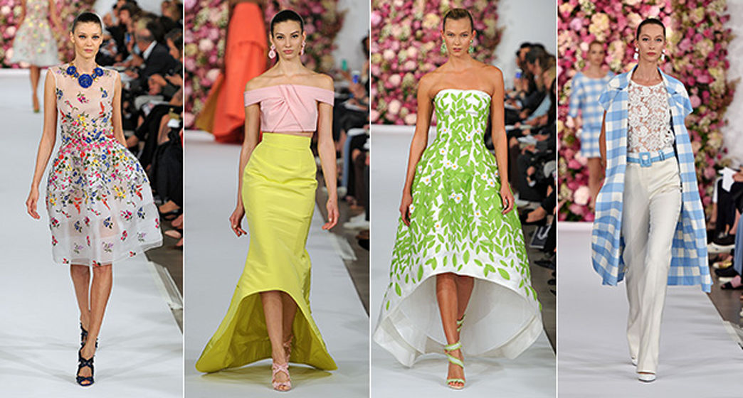Oscar de la Renta Spring 2015 is stunningly beautiful, and we want it all