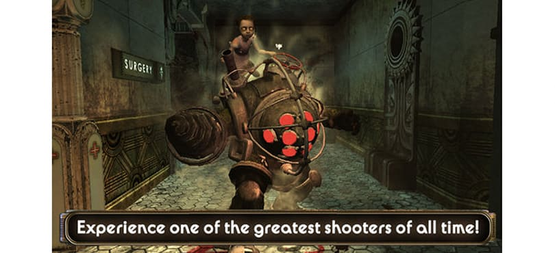 Bioshock now available for the iPhone and iPad