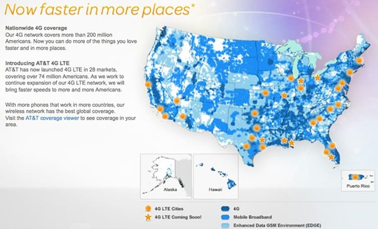 AT&T lighting up three LTE markets on April 8th, Indiana and Texas feel the glow