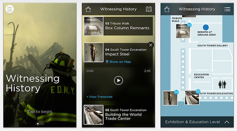 9/11 Memorial Museum Audio Guide app released