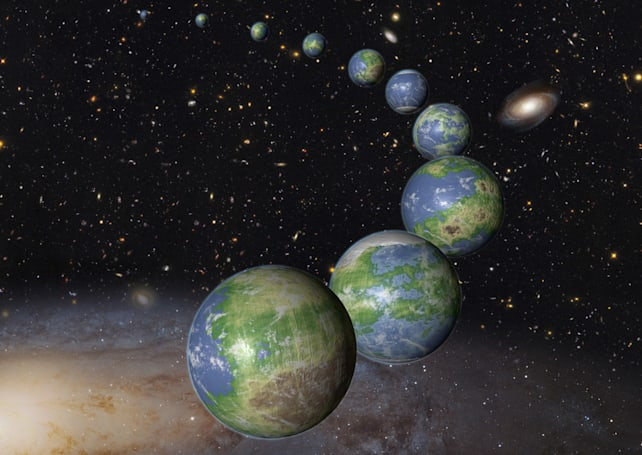 The majority of Earth-like planets haven't been born yet
