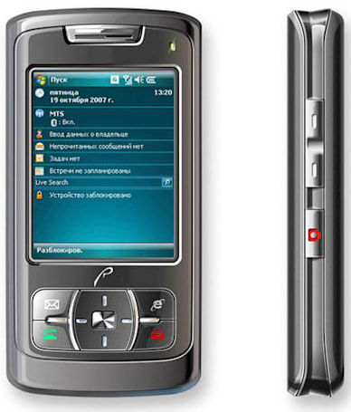 Windows Mobile 6-based RoverPC P6 on sale in Russia