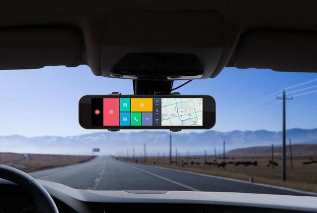 シャオミ、SIMが挿さる多機能液晶バックミラー Smart Rearview Mirrorを製品化。8.88インチ画面でナビや録画、音声操作に対応