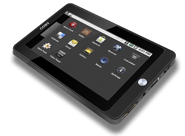 Coby rolls out $250 Kyros MID7015 Android tablet