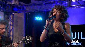 Cyrille Aimée Performs LIVE on AOL BUILD