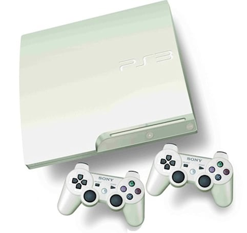 White PS3 coming to Europe and Australia in November