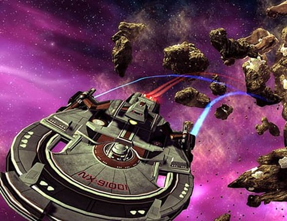 Collision confirmed and starship customization detailed in Star Trek Online