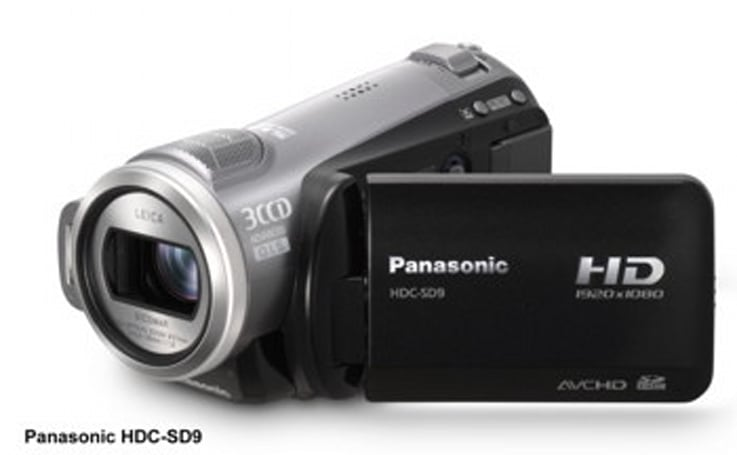 Panasonic's new HDC-SD9 and HDC-HS9 camcorders shoot 1080p
